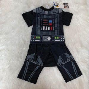 NEW Star Wars  Darth Vadar 2-Piece Boys Pajama Set